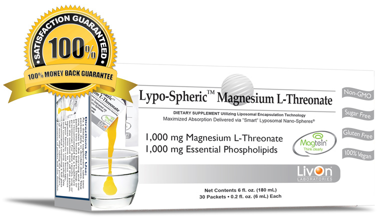 Buy Lypo-Spheric Magnesium-L-Threonate at the lowest price anywhere on the internet!